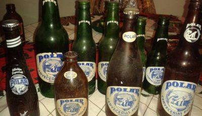 colección de botellas antiguas